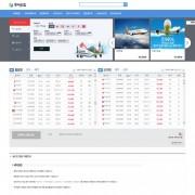 실시간항공 발권시스템(6개항공사)